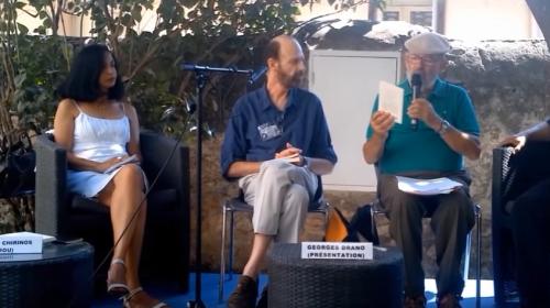 Eduardo Chirinos en el Festival de Sète, Francia