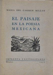 El paisaje en la poesía mexicana