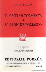 El capitán Tormenta ; El león de Damasco