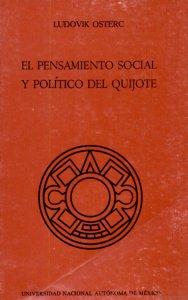 El pensamiento social y político del Quijote: interpretación histórico-materialista
