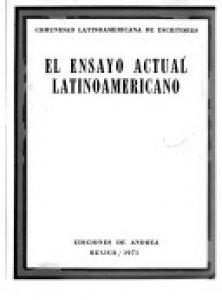 El ensayo actual latinoamericano