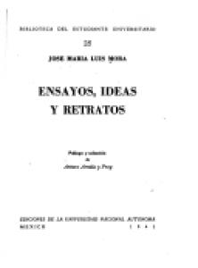Ensayo, ideas y retratos