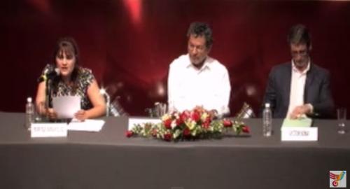 Entrega de Premio Nacional de Literatura Gilberto Owen 17/07/2013