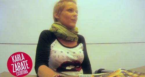Entrevista a Karla Zárate: <i>Rímel</i>
