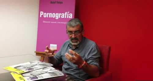 Entrevista a Naief Yehya (''Pornografía: Obsesión sexual y tecnológica'')