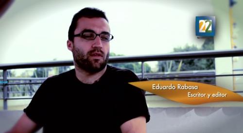 Entrevista con el escritor Eduardo Rabasa  sobre su obra <i>La suma de los ceros</i>