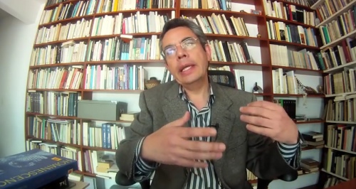 Entrevista con Salvador Gallardo (''La mudanza de los poderes'')