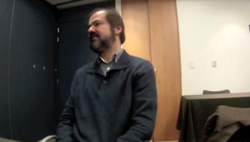 Entrevista  con Juan Villoro: <i>La gota gorda</i>