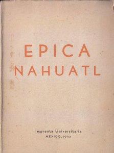 Épica náhuatl: divulgación literaria