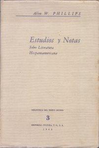 Estudios y notas sobre literatura hispanoamericana