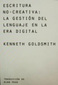 Escritura no creativa : la gestión del lenguaje en la era digital