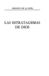 Las estratagemas de Dios