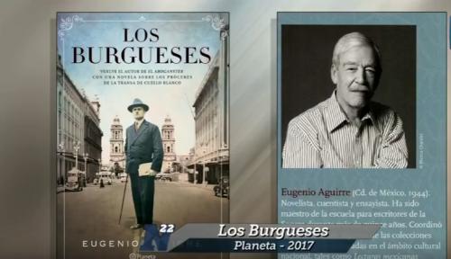 Eugenio Aguirre presenta <i>Los burgueses</i>