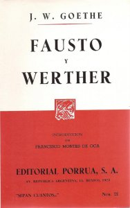 Fausto ; Werther