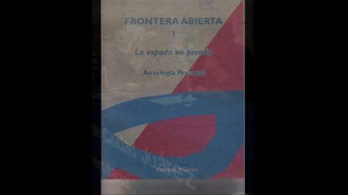 Fernando de Ita presenta ''Frontera abierta'' en Ciudad Juárez 1/2