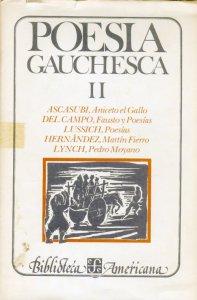 Poesía gauchesca : II