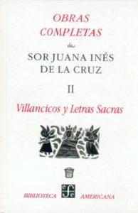 Obras completas, II: villancicos y letras sacras