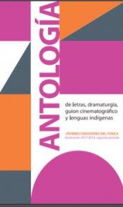 Antología de letras, dramaturgia, guión cinematográfico y lenguas indígenas : generación 2017-2018 , segundo periodo