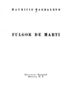 Fulgor de Martí
