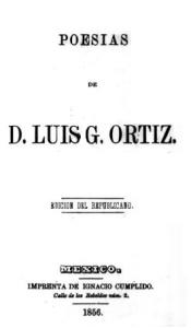 Poesías de D. Luis G. Ortiz