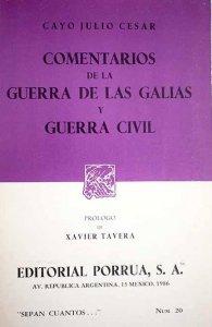 Comentarios de la Guerra de las Galias y Guerra Civil