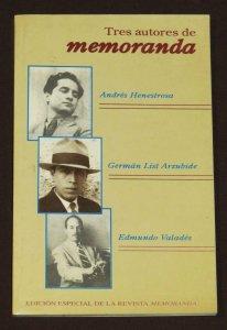 Tres autores de memoranda