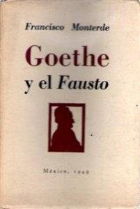 Goethe y el Fausto : aspectos de la elaboración del poema dramático