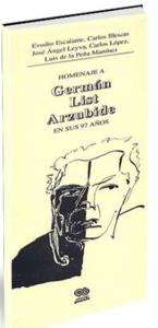 Homenaje a Germán List Arzubide en sus 97 años