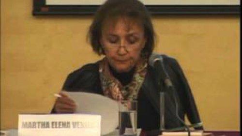 Homenaje a Alfonso Reyes: Martha Elena Venier