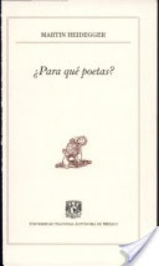 ¿Para qué poetas?