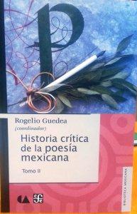 Historia crítica de la poesía mexicana II