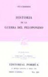 Historia de la guerra del Peloponeso