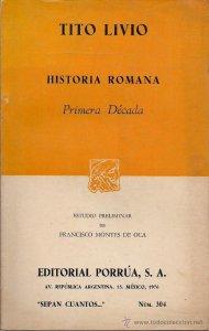 Historia romana : primera década