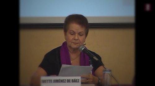 Homenaje a Alfonso Reyes: Ivette Jiménez de Báez