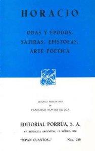 Odas y épodos ; Sátiras ; Epístolas ; Arte poética