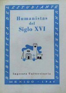 Humanistas mexicanos del siglo XVI