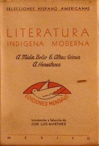 Literatura indígena moderna