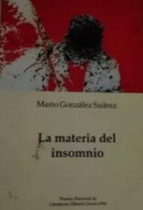 La materia del insomnio