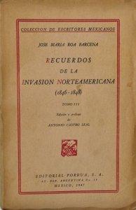 Recuerdos de la invasión norteamericana III