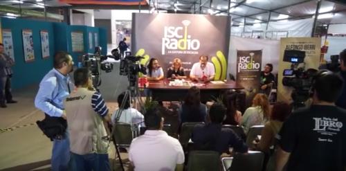 ISC Radio desde la Feria del Libro 2014