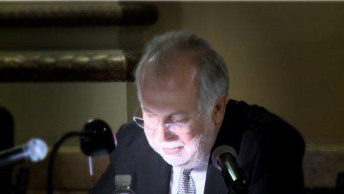 Ceremonia de ingreso de Javier Garciadiego a la Academia Mexicana de la Lengua