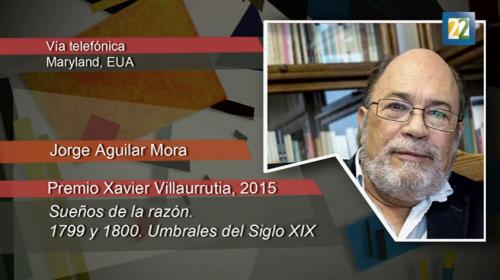 Lo mejor de las letras - Jorge Aguilar Mora gana el Xavier Villaurrutia