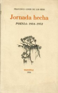 Jornada hecha : poesía : 1934-1952
