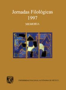 Jornadas Filológicas 1997: memoria