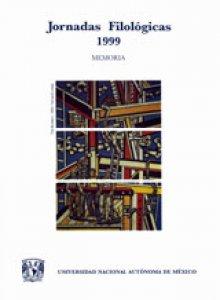 Jornadas Filológicas 1999: memoria