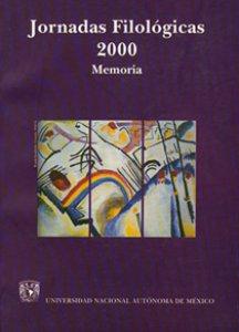 Jornadas Filológicas 2000: memoria