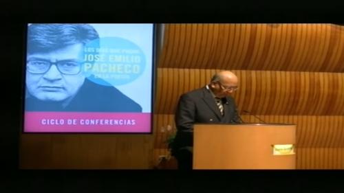 Ciclo: Los Días que Pasan, José Emilio Pacheco en la Poesía, agosto 29, 2016