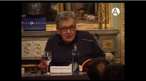 José Emilio Pacheco en Casa de América