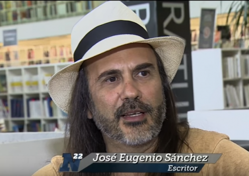 José Eugenio Sánchez: ''La poesía es un objeto peligroso''