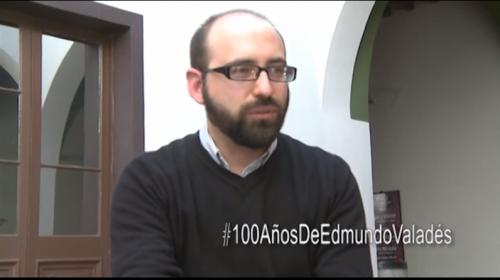 Josué Barrera, habla de Edmundo Valadés a 100 años de su natalicio